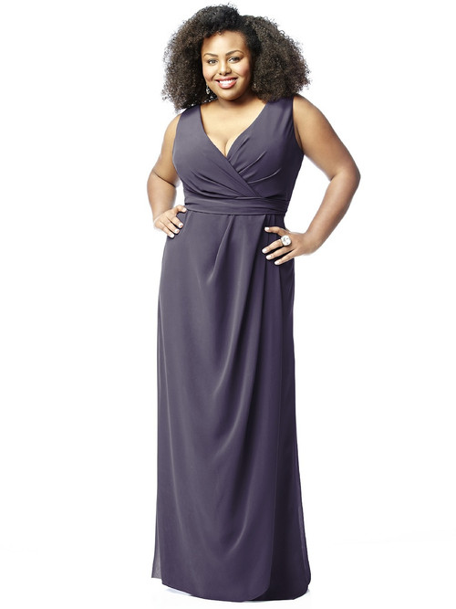 Lovelie Plus Size Bridesmaid Dress 9009
