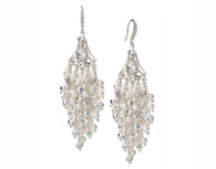 Wisteria Pearl & Crystal Mix Earrings