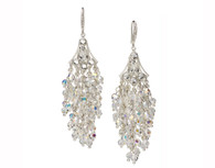 Wisteria Crystal Chandelier Earrings
