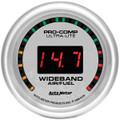 "Auto Meter Ultra-Lite Street 2: Wideband Air/Fuel Ratio PRO - 2 1/16"" (52.4mm)--Shipping Included"