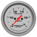 "Auto Meter Ultra-Lite: Wideband Air/Fuel Ratio ANALOG - 2 1/16"" (52.4mm)--Shipping Included"