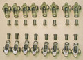 SS Rocker Arms for Dodge 5.2/5.9 Magnum Engine 1.6:1 Ratio (Aluminum and Iron Heads)