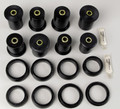 Energy Suspension Control Arm Bushings Polyurethane Dodge Dakota/Durango 1997-2004 4WD Black