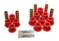 Energy Suspension Leaf Spring Bushings Polyurethane Dodge Dakota 1997-2004 RWD & 4WD Red