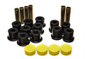 Energy Suspension Leaf Spring Bushings Polyurethane Dodge Durango 1987-1996 RWD & 4WD Black