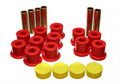 Energy Suspension Leaf Spring Bushings Polyurethane Dodge Durango 1987-1996 RWD & 4WD Red