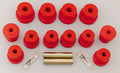 Energy Suspension Leaf Spring Bushings Polyurethane Dodge Dakota 1987-1996 RWD & 4WD Red
