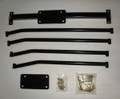 X-Brace for 2001-2004 Club Cab / Quad Cab CC / QC Dakota Black Powder Coating