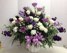 PURPLE AND WHITE TRIBUTE