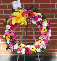BLESSINGS WREATH - ON SALE WAS $189.00