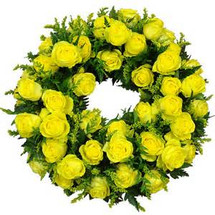 THE HALO STANDING WREATH