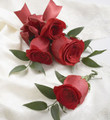 Rose Corsage & Boutonniere Package