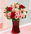 Sweetest Love Mixed Rose Bouquet