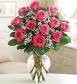 Rose Elegance Premium Long Stem Pink Roses