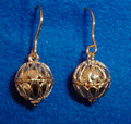 HAND-CRAFTED 14K Gold Dubrovacki Nausnice (Dubrovnik Earrings)  ~ Full Ball ~ 3.0grams: BY SPECIAL ORDER ONLY! (email us at melissa@heartofcroatia.com)