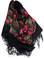 *Black Medjimurje Shawl ~ Imported from Croatia ~ SOLD OUT! SECOND PRICE DROP!