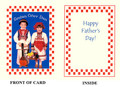 Father's Day Cards ~ Boy and Girl ~
