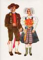 Vladimir Kirin Costume Prints ~ Imported from Croatia: KOROSKA, Slovenija (Numbered Print)