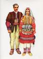 Vladimir Kirin Costume Prints ~ Imported from Croatia: Village of GALICNIK, Macedonia (Numbered Print)