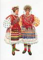 *Vladimir Kirin Costume Prints ~ Imported from Croatia: Village of Brodanci, Region of Slavonija-Valpovo, Croatia