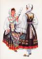 *Vladimir Kirin Costume Prints ~ Imported from Croatia: Town of Vrbnik, Island of Krk, Region of Primorje, Croatia