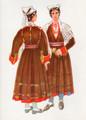 *Vladimir Kirin Costume Prints ~ Imported from Croatia: Village of Rakalj, Region of Istra, Croatia