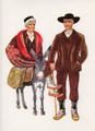 *Vladimir Kirin Costume Prints ~ Imported from Croatia: Region of Istra, Croatia