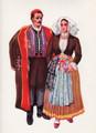 *Vladimir Kirin Costume Prints ~ Imported from Croatia: Island of Pag, Region of Primorje, Croatia