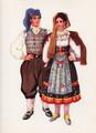 *Vladimir Kirin Costume Prints ~ Imported from Croatia: Town of Omisalj, Island of Krk, Region of Primorje, Croatia