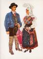*Vladimir Kirin Costume Prints ~ Imported from Croatia: Region of Gorenjska, Slovenija