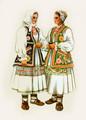 *Vladimir Kirin Costume Prints ~ Imported from Croatia: Vugrovec, Croatia