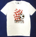 T-Shirt: Youth Unisex Style ~ CROATIAN SOCCER, Designed in Croatia Especially for Heart of Croatia!  ~ Sizes: S - M - L:  RE-STOCKED!!!