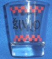 """ZIVIO"" Croatian Shot Glasses: BACK BY POPULAR DEMAND!"