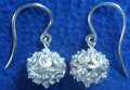 Sterling Silver 5.7g Full Ball Botuni Earrings ~ Imported From Croatia  REDUCED PRICE!