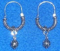 "*Konavle Earrings, Sterling Silver, 9.65g, ""Verizice"" RE-STOCKED! PRICE DROP!"