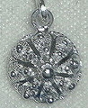 Sterling Silver Half Ball Botuni Pendant, 1.52g ~ Imported From Croatia: RE-STOCKED!
