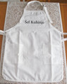 *** Apron ~ Šef Kuhinje ~ (Chef/Chief of the Kitchen) Apron ~ NEW STYLE! (WHITE)