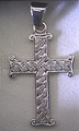 PLETER CROSS, 14K WHITE Gold (3.3grams): SPECIAL ORDER ONLY!