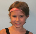 **Headband with ŠAHOVNICA Pattern, One Size Fits All! NEW!