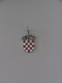 GRB: Sterling Silver Enamel, .93g, Imported from Croatia: RE-STOCKED! Reduced Price! ONE LEFT!