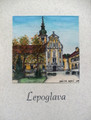 "**""LEPOGLAVA"" Original Art by Krešimir Bajsić, Imported from Croatia: ONE-OF-A-KIND! NEW! (#3)"