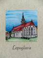 "**""LEPOGLAVA"" Original Art by Krešimir Bajsić, Imported from Croatia: ONE-OF-A-KIND! NEW! (#5)"