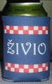 "Koozies, with ""ŽIVIO"" and Šahovnica Design: NEW!"