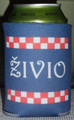 "Koozies, with ""ŽIVIO"" and Šahovnica Design: NEW!"
