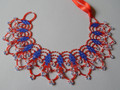"KRALUŠ Traditional Handmade Necklace from Croatia: ""Croatian Colors"" One-of-a-Kind!"