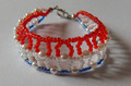 "KRALUŠ Traditional Handmade Bracelet from Croatia: ""Croatian Colors"" NEW!"