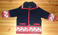 Slavonija Jacket in Boys' Sizes, Imported from Croatia. SPECIAL ORDER: NEW! Pre-Orders Again Taken Beginning in January!