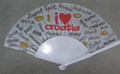**Fans Imported from Croatia: NEW! (Red/Brown/Gold)