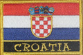 Embroidered Patch, Imported from Croatia: NEW!