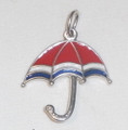 LICITAR JEWELRY, Šestine Umbrella Pendant 2.0g, Hand-Painted and Imported from Croatia: NEW!